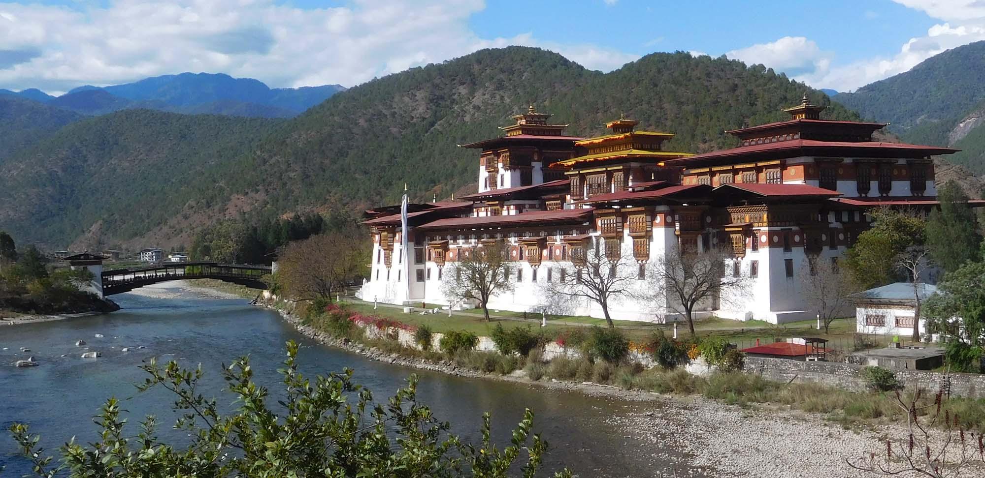 Punakha Dzong Field Guides Birding Tours Bhutan